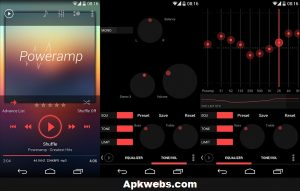 Poweramp Pro APK Latest Full Version Cracked Free Download 2019