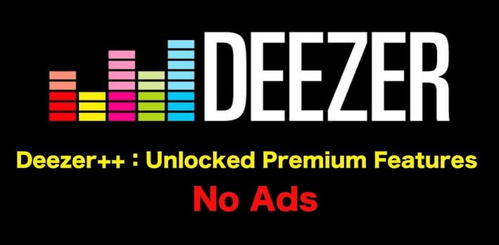 Download Deezer++ for iOS and Android
